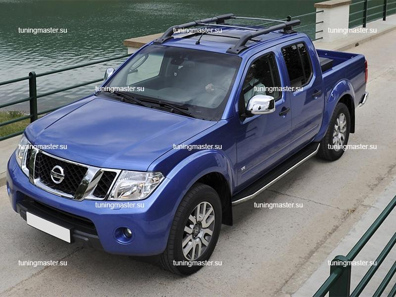 Пороги Nissan Navara (Premium)