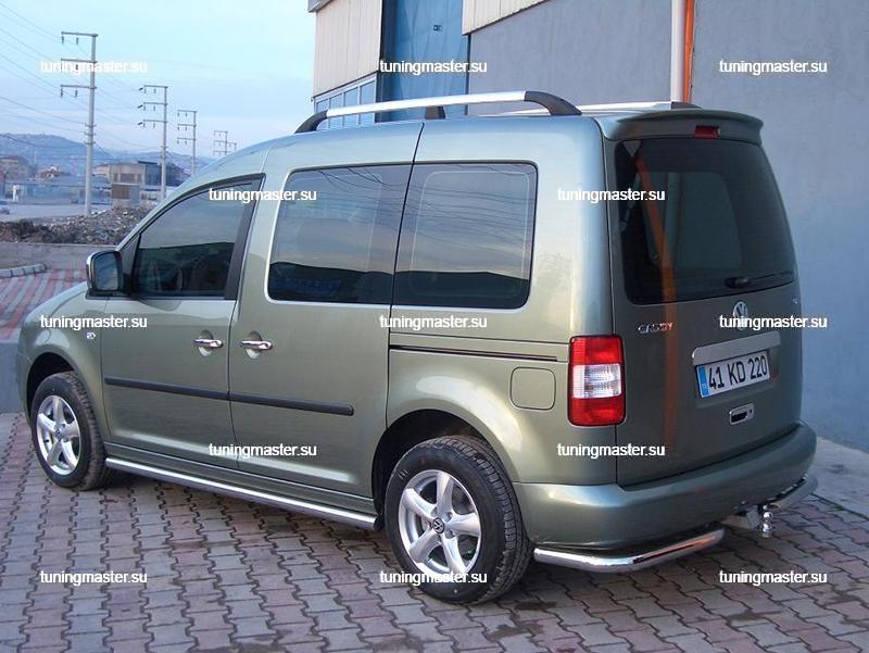 Рейлинги Volkswagen Caddy (короткая база) 2