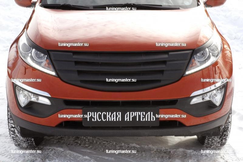 Накладки на фары Kia Sportage 2