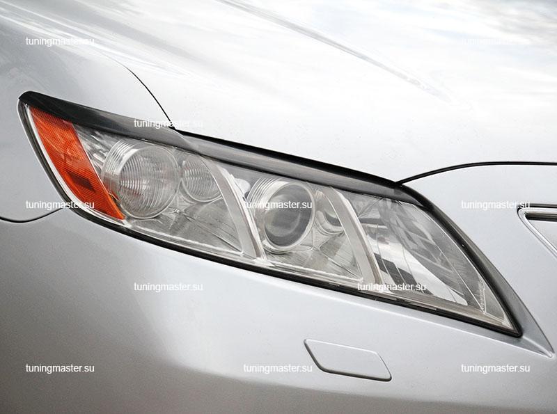Накладки на фары Toyota Camry V40 (короткие)