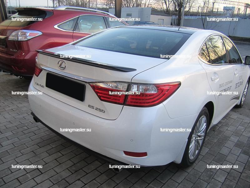 Спойлер на крышку багажника Lexus ES 2