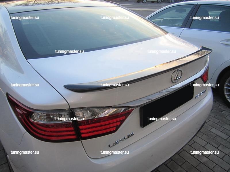Спойлер на крышку багажника Lexus ES
