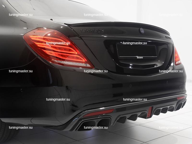 Спойлер на крышку багажника Mercedes Benz S-Class W222 BRABUS