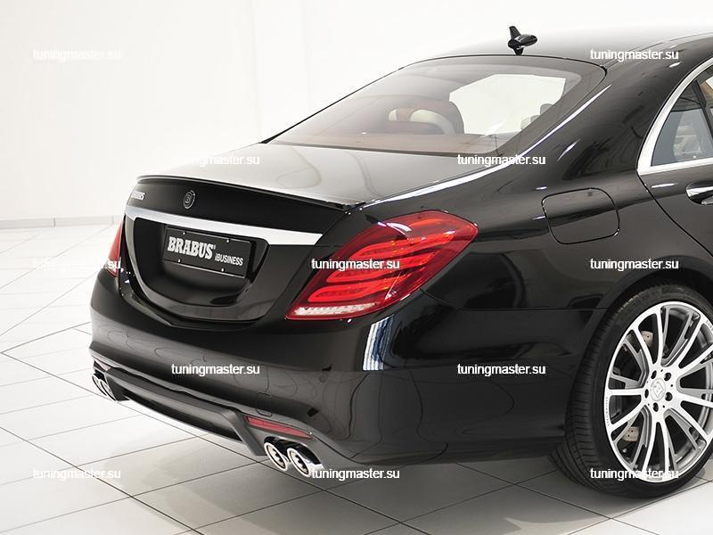 Спойлер на крышку багажника Mercedes Benz S-Class W222 BRABUS 3