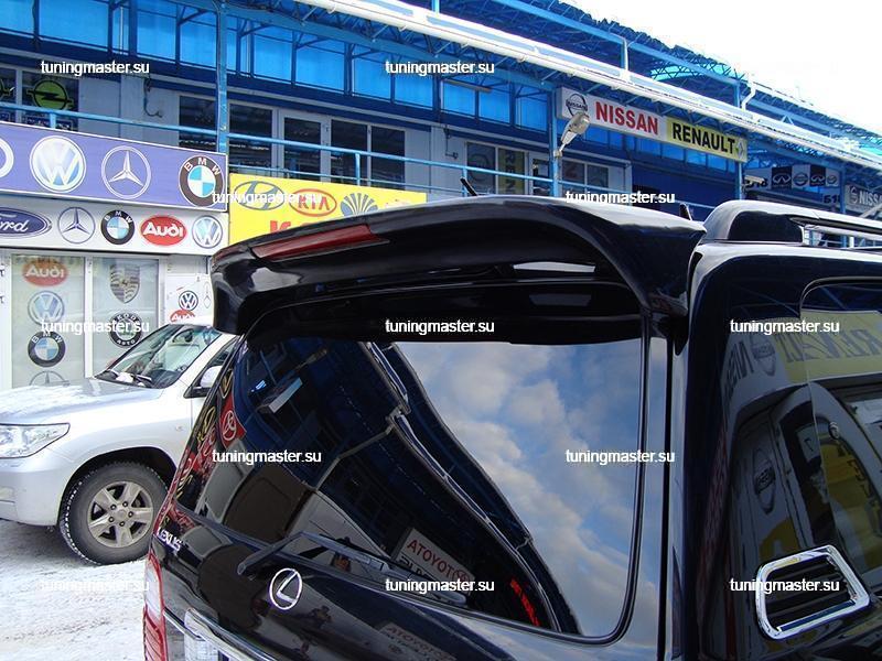 Спойлер задний Toyota Land Cruiser 100 со стоп сигналом 3