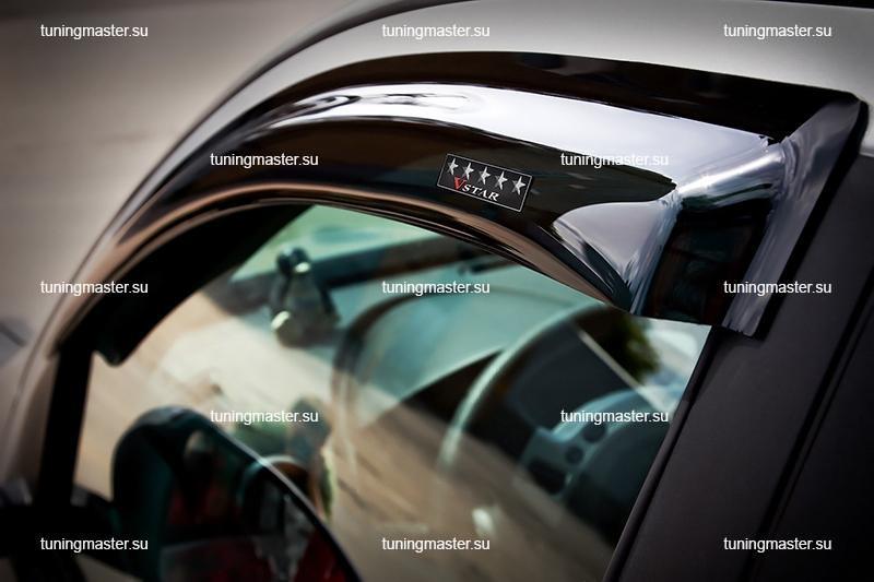 Дефлекторы окон Ford Focus 1