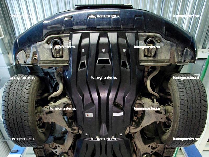 Композитная защита картера Toyota Land Cruiser 200 (2 части) 3