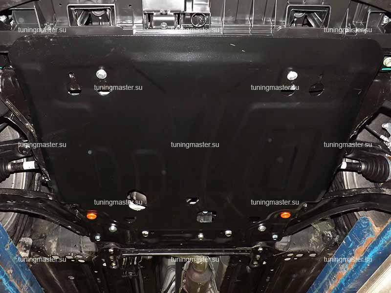 Защита картера и КПП Nissan X-Trail T32