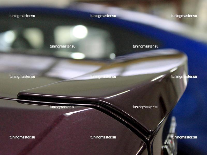 Спойлер на крышку багажника Hyundai Solaris