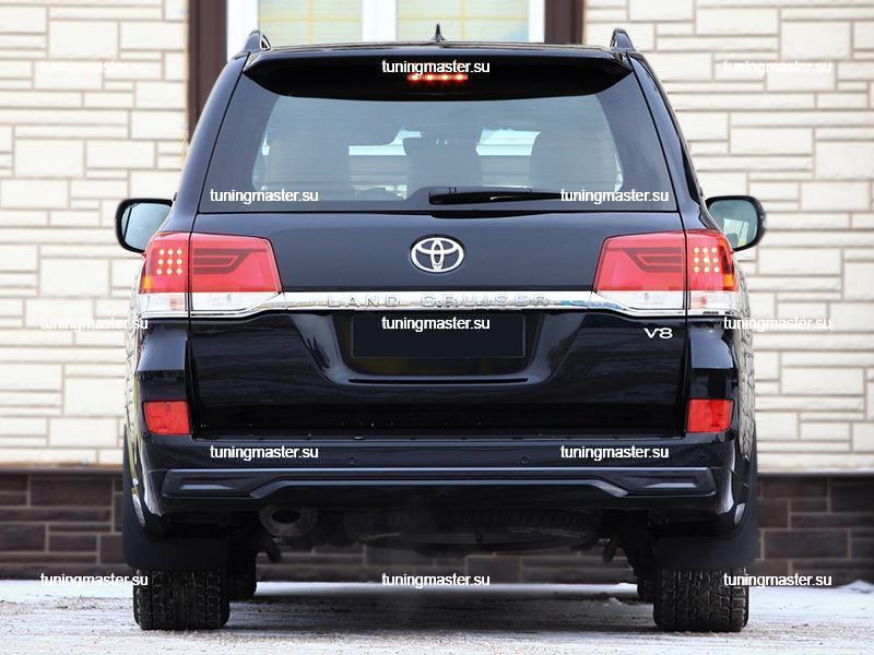 Аэродинамический обвес Executive Black для Toyota Land Cruiser 200