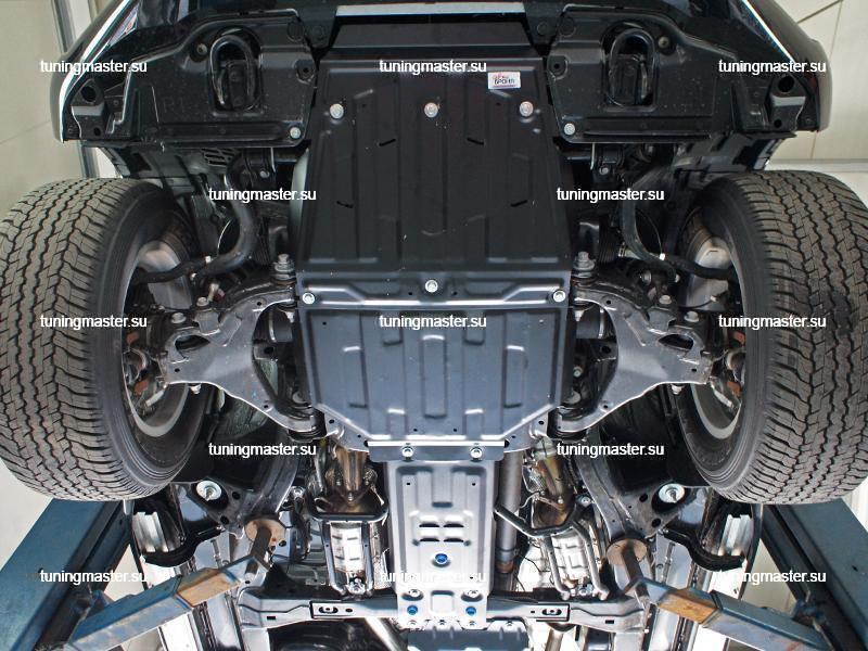 Защита КПП Toyota Land Cruiser 200