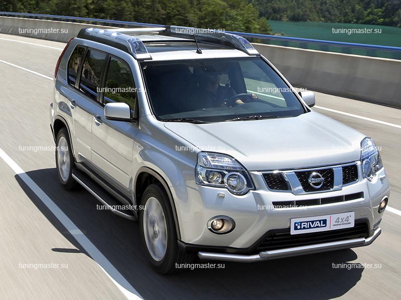 Пороги Nissan X-Trail T31 (Premium)