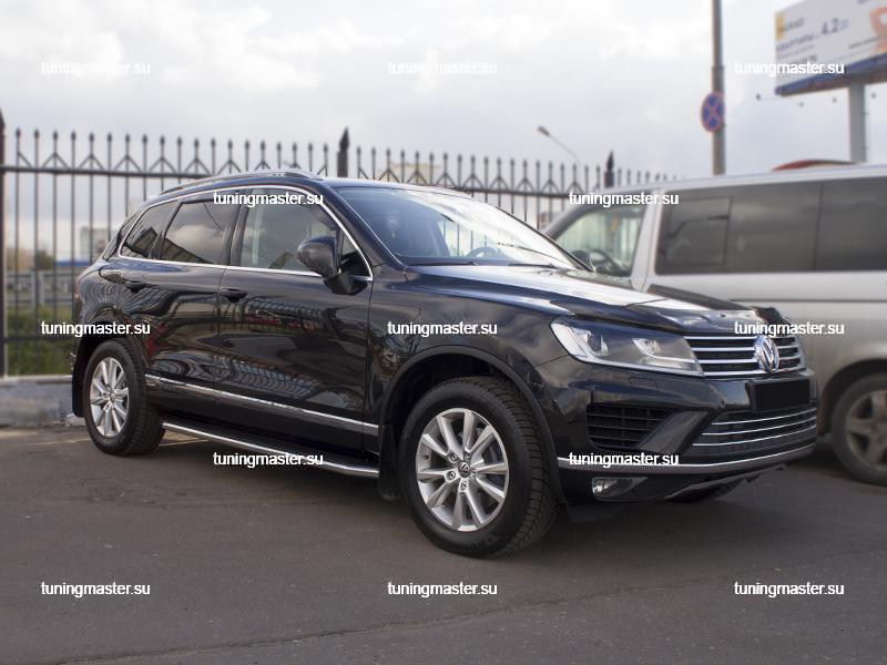 Пороги Volkswagen Touareg (Premium)