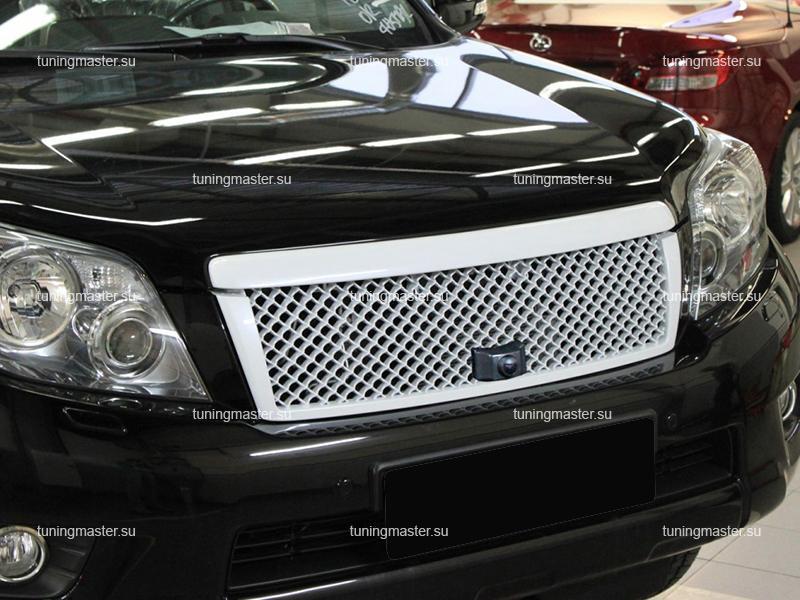 Решетка радиатора для Toyota Land Cruiser Prado 150 Style Bentley с местом под камеру