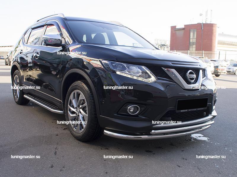 Пороги Nissan X-Trail T32 (Premium)
