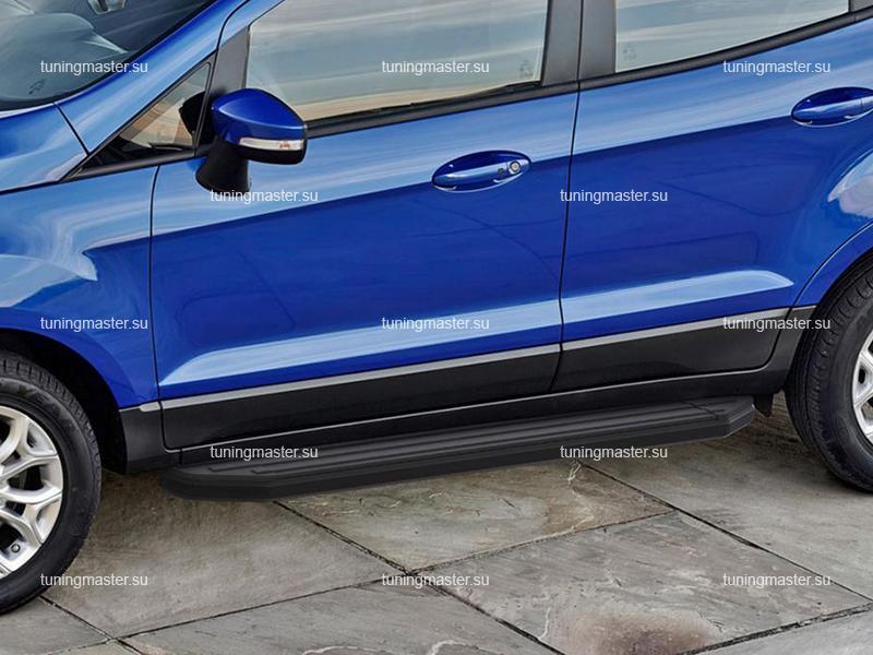 Пороги Ford EcoSport (Black)