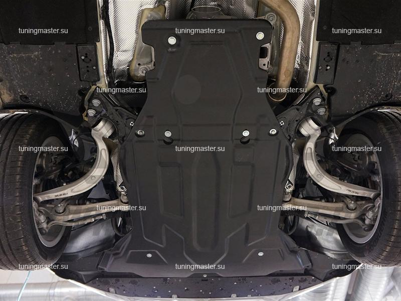Композитная защита картера Audi A4