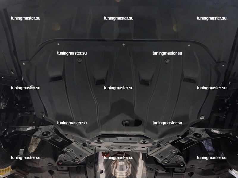 Защита картера двигателя и кпп Kia Ceed 2015-