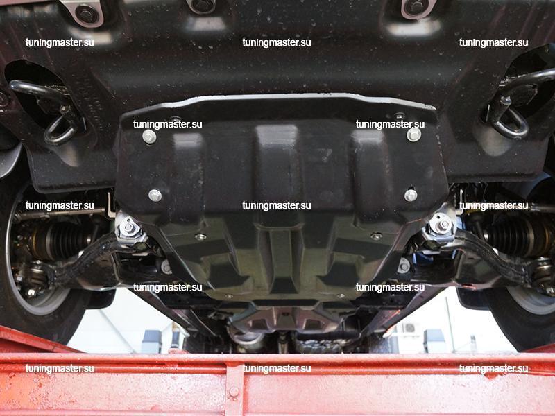 Защита картера двигателя и кпп Toyota Hilux