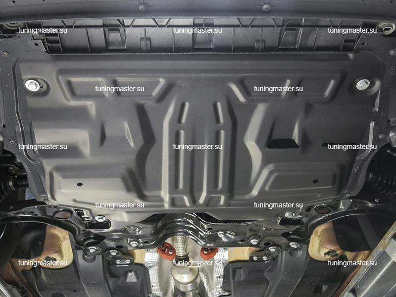 Защита картера и КПП Volkswagen Polo