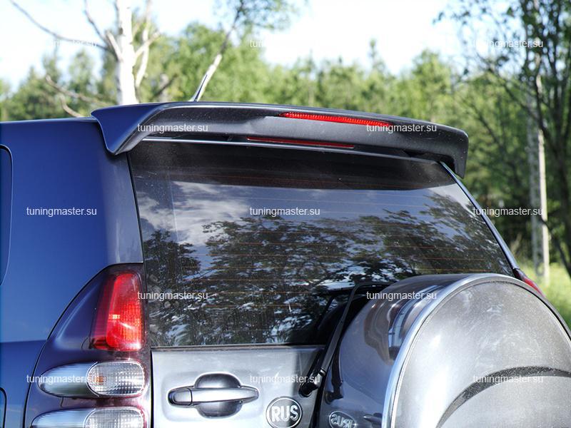 Спойлер задний Toyota Land Cruiser Prado 120