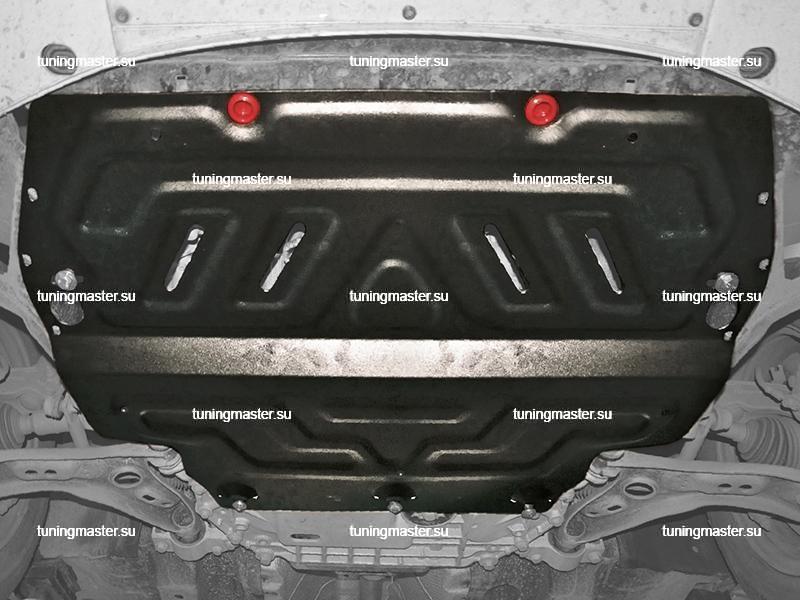 Защита картера и КПП Volkswagen Golf 6