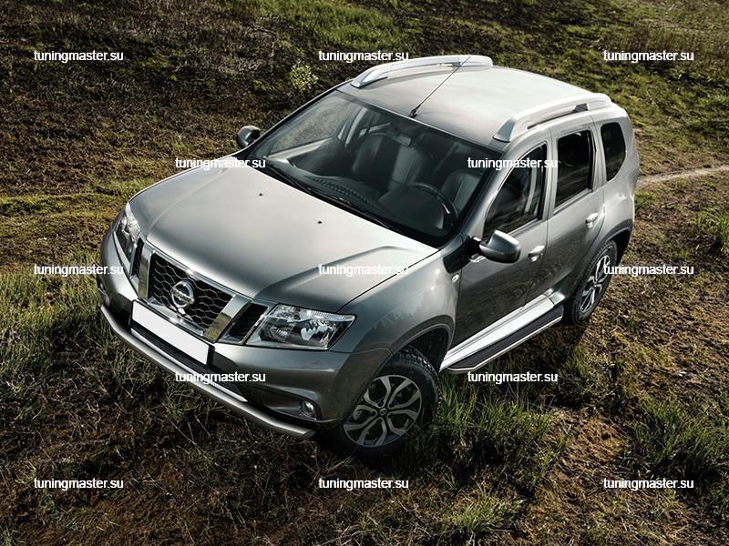 Пороги Renault Duster / Nissan Terrano (Premium)