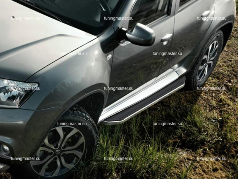 Пороги Nissan Terrano (Premium)