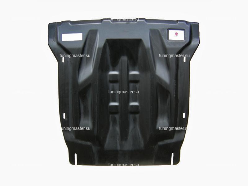Композитная защита картера и КПП Audi Q7 (2 части)