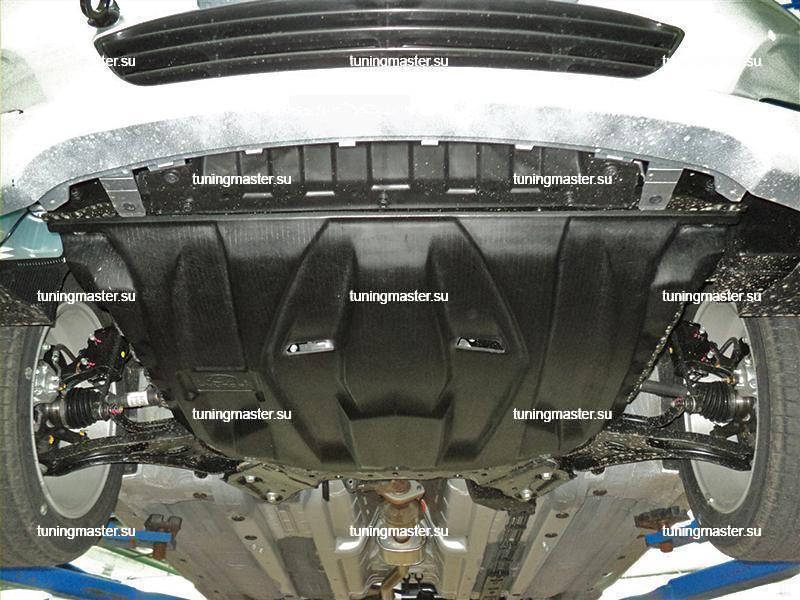 Композитная защита картера Hyundai Solaris