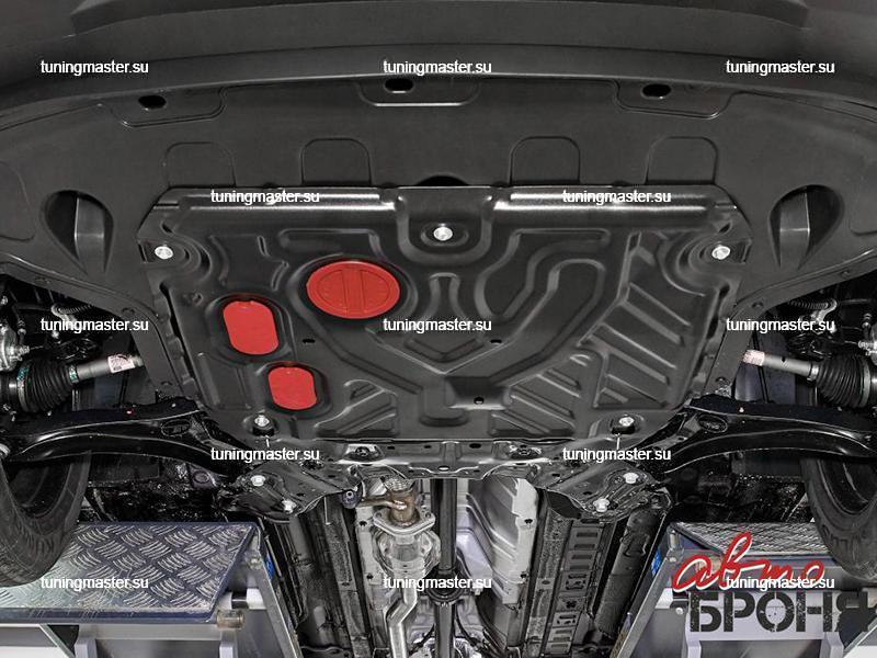 Защита картера и КПП Hyundai Creta
