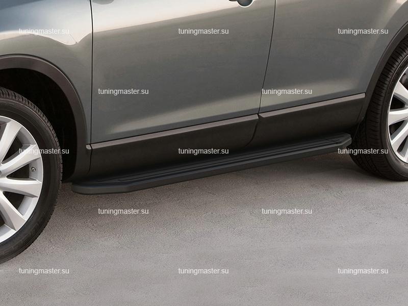 Пороги Nissan Murano (Black)