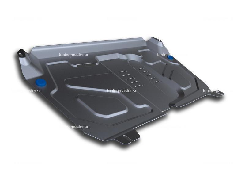 Защита картера и КПП Toyota Camry V50 (алюминиевая) увеличенная