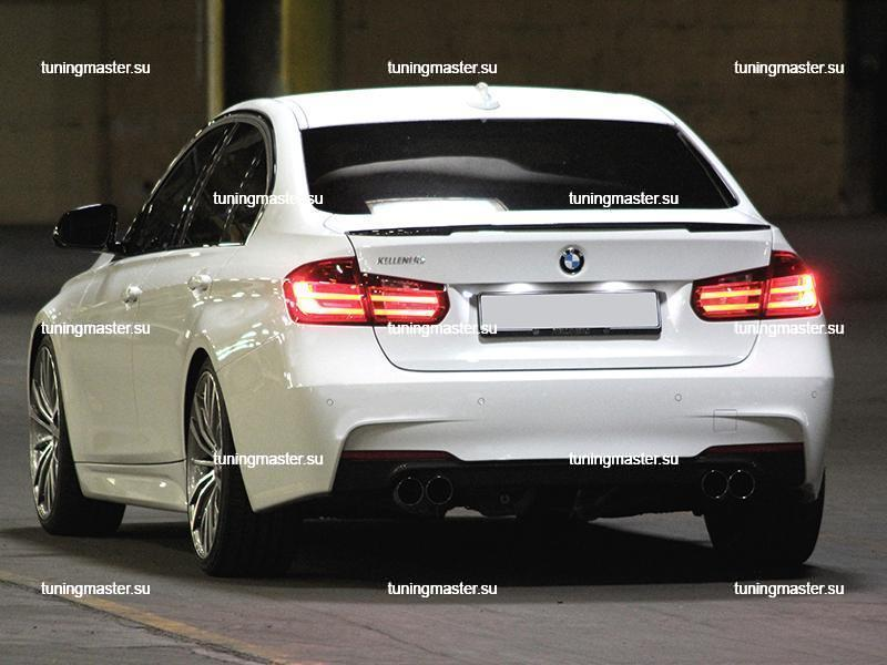 Спойлер на крышку багажника BMW 3 (F30)