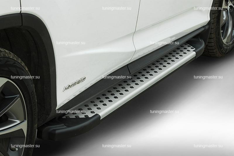 Пороги Lexus RX 450H алюминиевый профиль