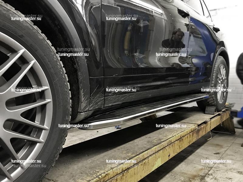 Пороги Porsche Cayenne (Premium)
