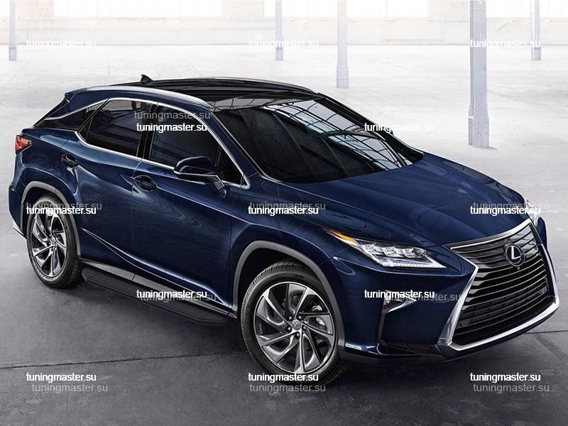 Пороги Lexus RX (Black)