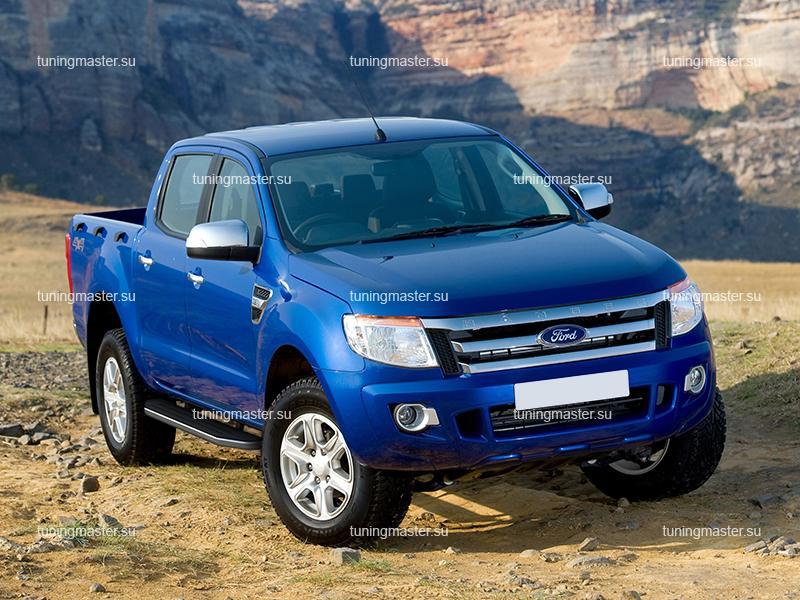 Пороги Ford Ranger (Premium)