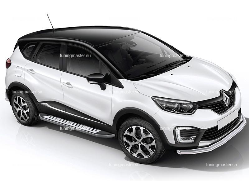 Пороги Renault Kaptur (бмв стиль)