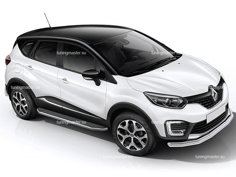 Пороги Renault Kaptur (Premium)
