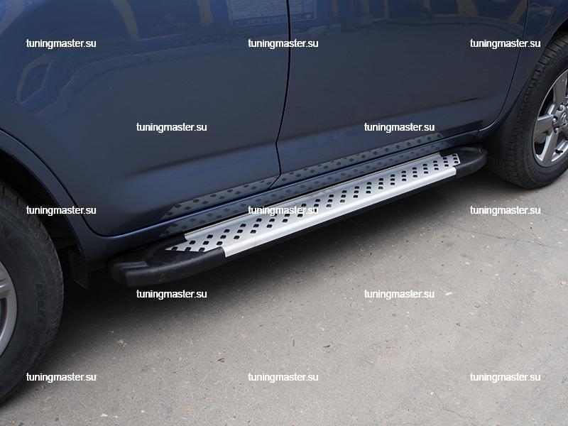 Пороги Toyota RAV4 алюминиевый профиль