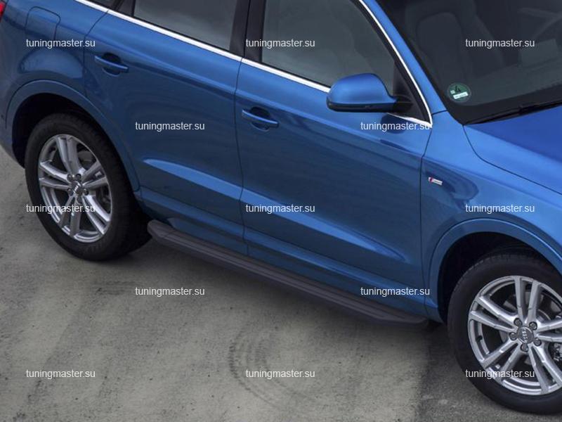 Пороги Audi Q3 (Black)