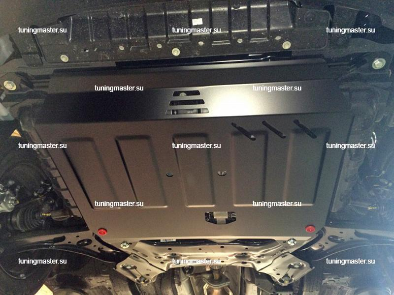 Защита картера и КПП Hyundai Solaris