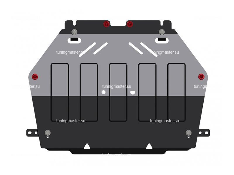Защита картера и КПП Mitsubishi Outlander