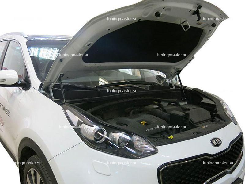 Амортизаторы капота для Kia Sportage