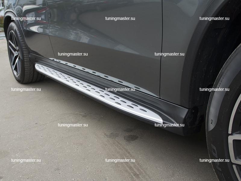 Пороги Mercedes Benz GLE Coupe с подсветкой (Original Style)