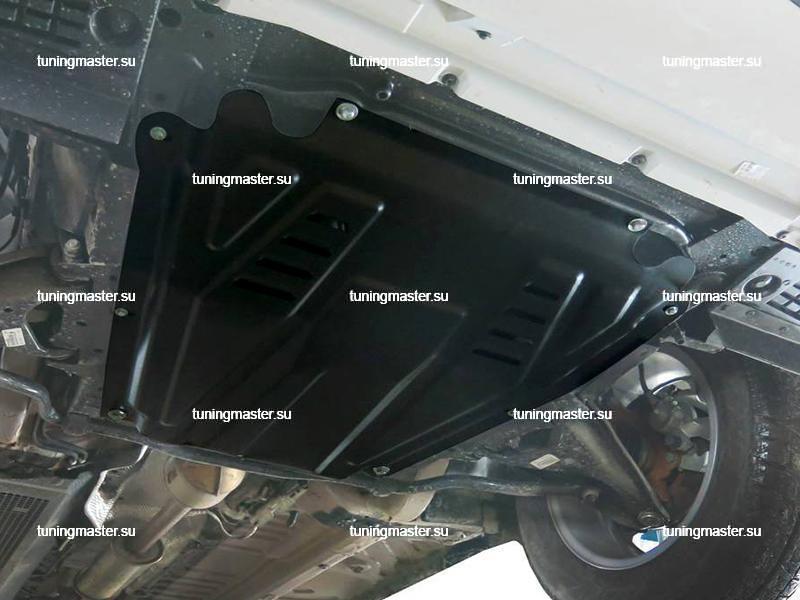 Защита картера и КПП Renault Logan