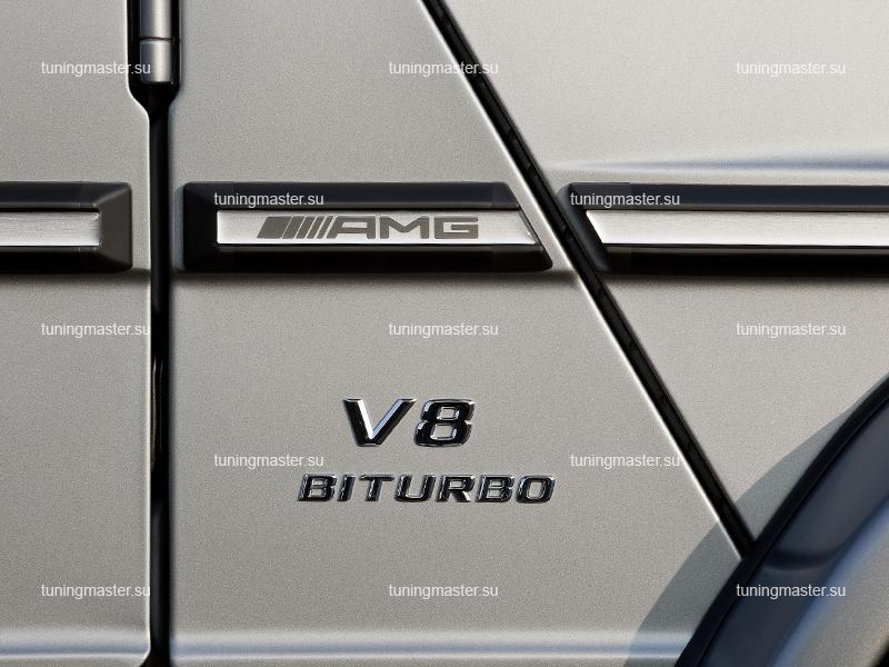 Молдинги для Mercedes-Benz Gelandewagen с логотипом AMG