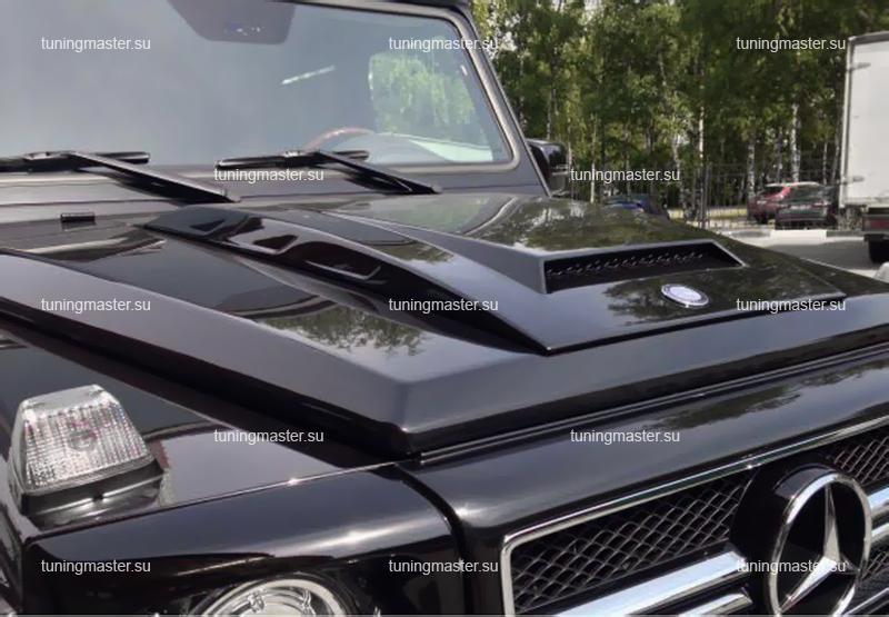 Накладка на капот для Mercedes-Benz Gelandewagen