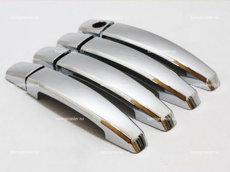 Накладки на ручки Chevrolet Orlando пластик
